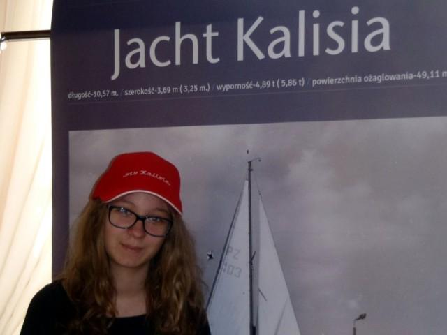 Jedna z sympatyczek jachtu Kalisia - Marianna Skitek - potencjalna instruktorka w Morce!